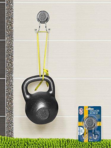Tatkraft Vacuum Screw HARD Gunter Estante Esquina de Pared Baño 3 Niveles  Acero Cromado Incorrodible con d120e5ba4442