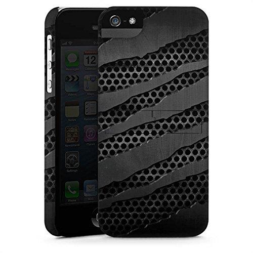Apple iPhone X Silikon Hülle Case Schutzhülle Carbon Metall Look Premium Case StandUp