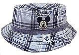 Baby Jungen Mickey Mouse Fischer Stil Sonnenhut 0-6M bis zu 2-4Y - Blau, 18-23 Monater