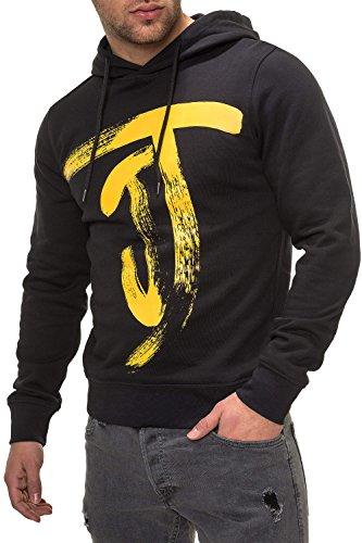 JACK & JONES Herren Hoodie Kapuzenpullover Sweatshirt (S, Tap Shoe)