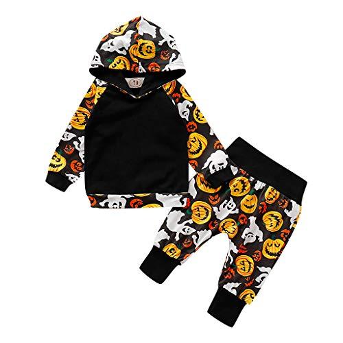 Kostüm Schwarz Infant Skelett - Infant Langarm Halloween Cosplay Kürbis EIN Stück Neugeborenes Baby Mädchen Kürbis Kostüm Strampler Overall Outfits