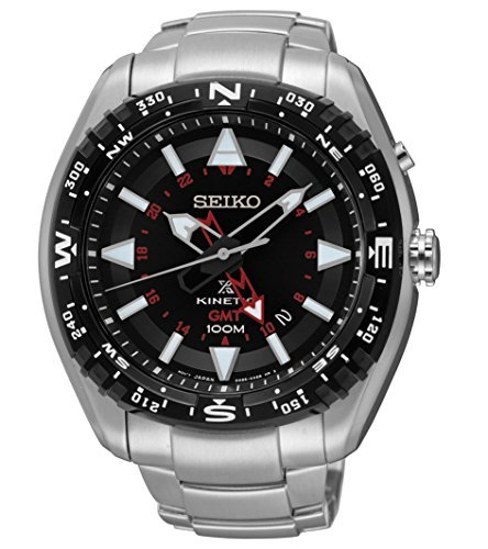 Seiko Men's Prospex Kinetic GMT Watch image