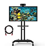 Suptek Mobile TV Carrello Supporto universale con supporto TV per schermi da 32 a 70 pollic 45KG ML5075