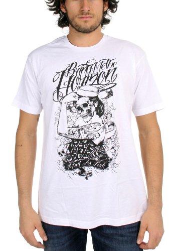 Bring Me The Horizon - Sailor Herren T-Shirt in weiß Weiß - Weiß