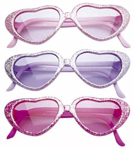 Widmann 6726G - Glamouröse Brille mit Pailletten für Kinder, Pink