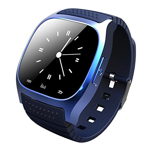 RWATCH M26 Smart Bluetooth Watch 1.4 Inch Touch Screen with Mic (blue)