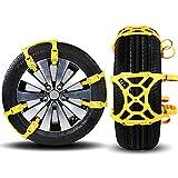 lylfhl universale catene da neve, antiscivolo Universal Car Tire Skid catene da neve 165mm–265mm Tire catene da neve pneumatici catene da neve Tire catene per auto, SUV, camion