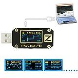 Spannungsprüfer, Dxlta USB PD3.0 QC4.0 Prüfgerät Spannung Stromwelligkeit Doppel-Typ-C Meter-Tools