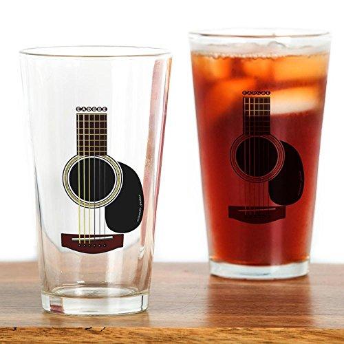 9fda2aa572d CafePress - Acoustic Guitar Pint Glass - Pint Glass