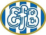 Esbjerg fB Denmark Soccer Football Hochwertigen Auto-Autoaufkleber 12 x 10 cm