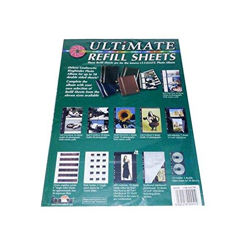 Innova EDITIONEN, die ultimative Kombination Refill 5 Blatt, 10 x 8 Refill Foto-album-seiten 8x10