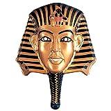 Masque de pharaon doré Égypte masque noir et or Égyptienne Cléopâtre masque égyptien masque de pharaon Néfertiti déguisement accessoire