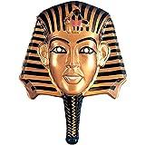 Faraón de Oro Máscara Egipto máscara de oro negro ägypterin Cleopatra Máscara egipcio Faraón nen Máscara Nefertiti Disfraz Accesorio