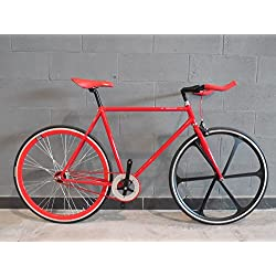 Bicicleta Fixed Red Devil Fixie Gear fijación fijo