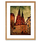 The Art Stop Photo City Landmark Uppsala Cathedral Sweden