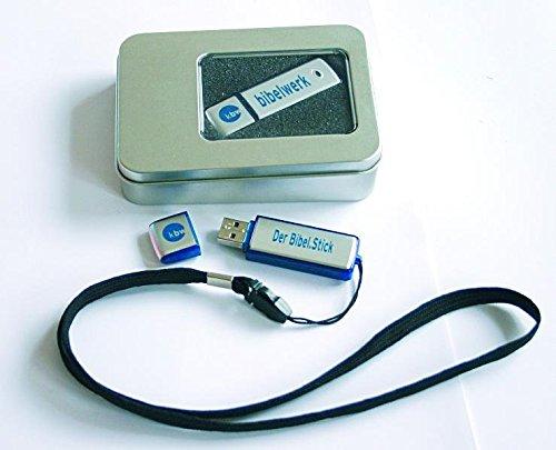 Preisvergleich Produktbild Der Bibel.Stick: Einheitsübersetzung auf USB-Stick in Geschenkdose