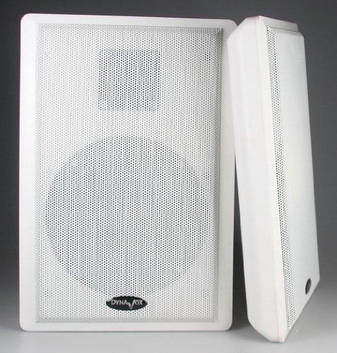 Flatpanel-Lautsprecher, 40W, weiß, Surround, 4 Ohm, 86dB, 2-Wege, Paar