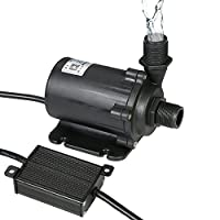 Goolsky Bluefish DC24V 91.2W 1500L/H Lift 15m Brushless Water Pump with External Controller Waterproof Submersible Pump for Aquarium Fish Tank Tabletop Fountain Pond and Hydroponic Systems