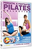 Prenatal & Postnatal Pilates Collection with Caroline Sandry (3 x DVD Box Set)