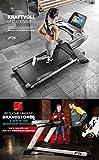 """Sportstech F75 High-End Laufband mit Großer Lauffläche 580x1600mm, Android 15,6"""" Display, Wifi, USB, 18% Steigung mit Dämpfungssystem bis 200Kg – Robust und klappbar - 2"""