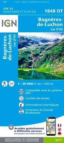 Bagneres-de-Luchon / Lac d'Oo 2017 (Top 25 & série bleue - Carte de randonnée)