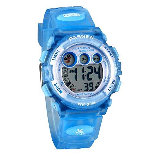 f41601d00f04 Lancardo Reloj Deportivo Resistente al Agua de 30M de Multifunción Pulsera Digital  Impermeable de Moda Retroiluminación