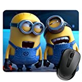 #1: exciting Lives Laughing Minions Mouse Pad