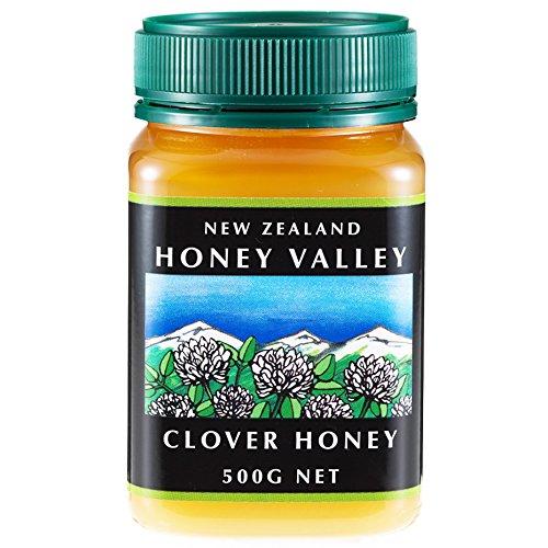 Klee-Honig 250g cremige nat?rlichen Roh-Honig aus Neuseeland ohne Zus?tze pestizidfrei (Honig Klee)