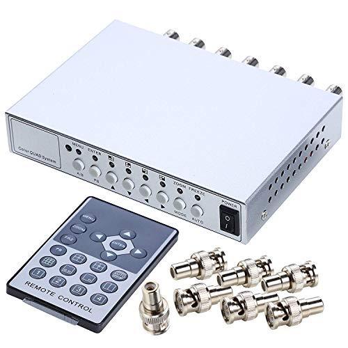 AD System Video Splitter CCTV DVR Kamera Prozessor Fernbedienung Steuern ()