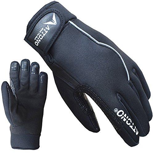 ATTONO Kletterhandschuhe Winter Kletter Handschuhe für kältere Temperaturen Klettern