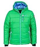 Trollkids Skijacke Hemsedal Snow grün/blau 12 Jahre (152 cm)