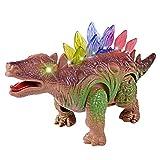 TianranRT Licht Up Dinosaurier Elektronisch Laufen Roboter Brüllen Interaktiv Dino Spielzeug
