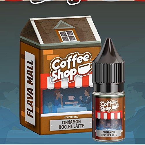 Cinnamon Dolce Latte Coffee Shop (10ml) Aroma by Flava Mall Nikotinfrei
