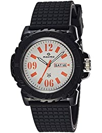 Maxima  Aqua-Sport Day-Date White Dial Men -27286PPGW