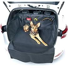 Topist Kofferraumschutz Hunde,Wasserdicht Hundedecke Auto,Rutschfest Kofferraumdecke mit Seitenschutz,Autoschondecke f/ür Hunde,Sch/ützt Auto Suv vor Kratzern,Schmutz und Tierhaaren 61x41