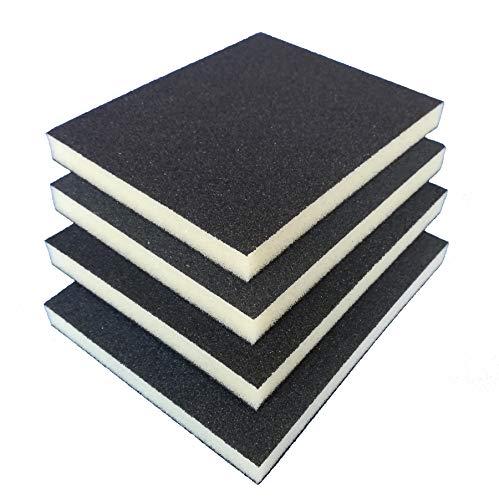 Esterilla de lijado (granulado, 4 unidades, para diferentes materiales)