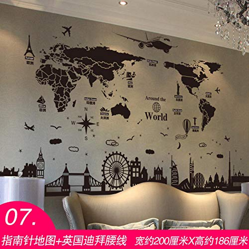 3D stereo wall sticker stickers papel tapiz decorativo