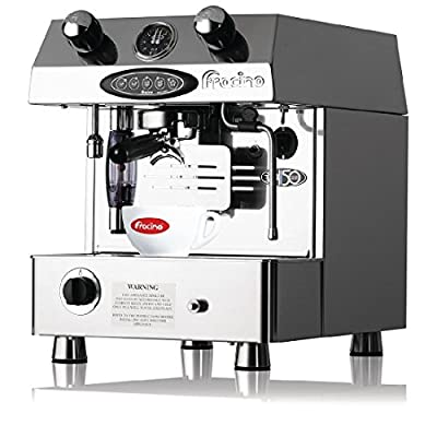 Heavy Duty Contempo automatic 1 Group Dual Fuel Espresso Coffee Machine Commercial Kitchen Restaurant Cafe Chef School from Fracino