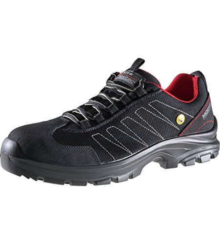 Elegance S1P Flexitec ESD-Sicherheitsschuh - Schuhe EN ISO 20345 S1P für Innenbereiche geeignet - Arbeitsschuhe mit Durchtrittschutz Schwarz