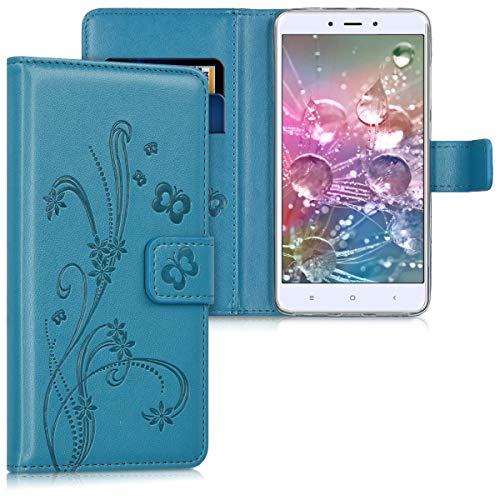 kwmobile Xiaomi Redmi Note 4 / Note 4X Hülle - Kunstleder Wallet Case für Xiaomi Redmi Note 4 / Note 4X mit Kartenfächern & Stand - Handyhüllen (Xiaomi, Redmi Note 4/Note 4X)
