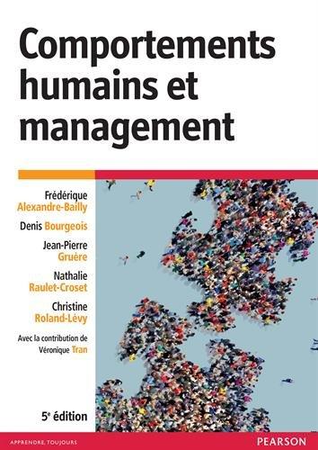 Comportements humains et management 5e édition