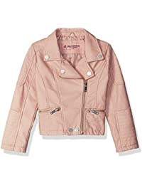 Urban Republic Girls' My Faux Leather Moto Jacket
