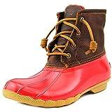 Sperry Top Sider Saltwater Damen US 6 Rot Regenstiefel EU 36