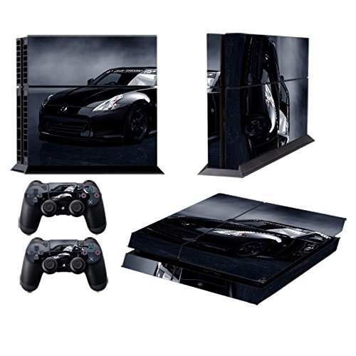 258stickers-playstation-4-console-skin-remote-controllers-skin-2012-nissan-370z-gt-concept-gran-turi