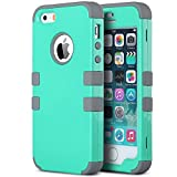 Best Apple Iphone 5 Los casos de cuero - ULAK iPhone 5 5S SE Carcasa Case Cover Review