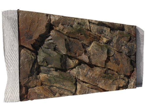 Aquarium Rückwand 3D Felsen 60x30 bei Robizoo