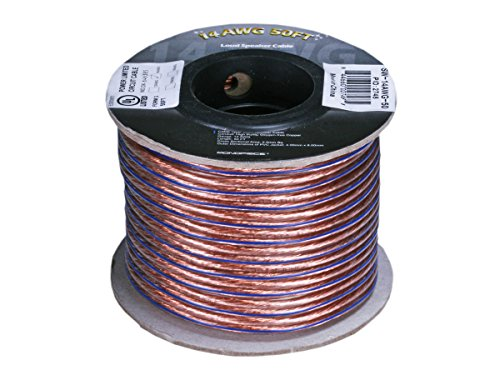 50ft 14AWG Enhanced Loud Oxygen-Free Copper Speaker Wire Cable