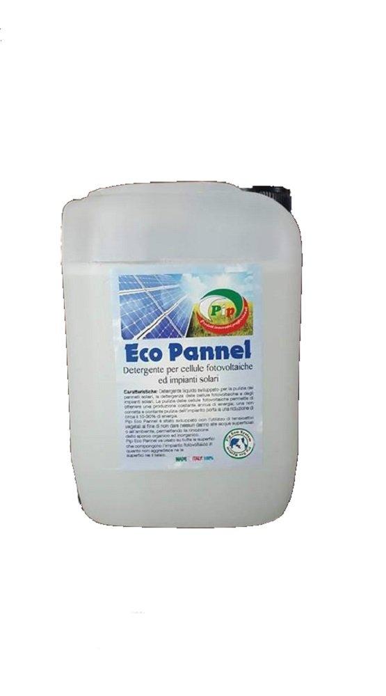 Pip Eco Pannel. Detergente Ecologico Concentrato per celle fotovoltaiche ed impianti solari. TK KG.
