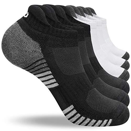 anqier Sneaker Socken Herren Damen Baumwolle