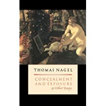Concealment and Exposure: And Other Essays